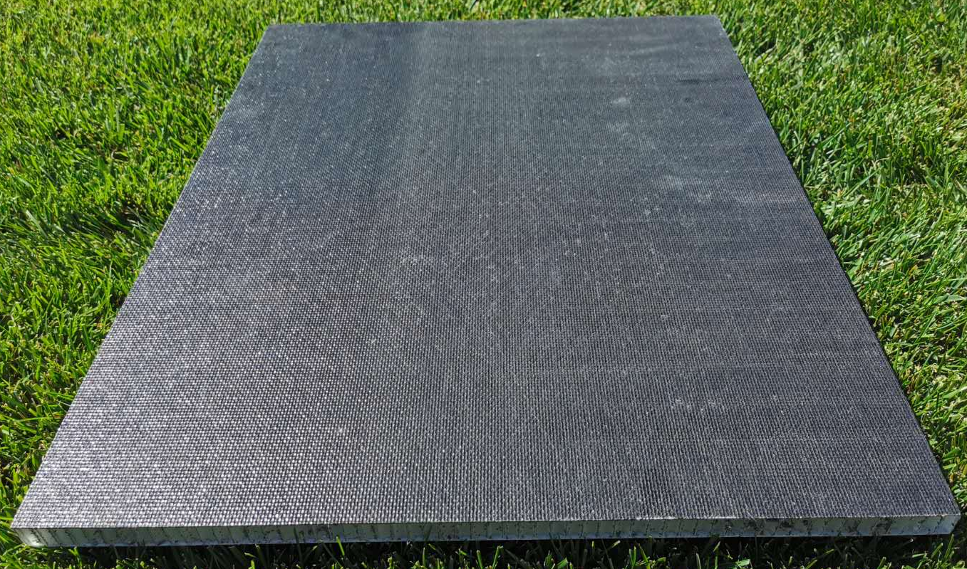 anti slip honeycomb panel